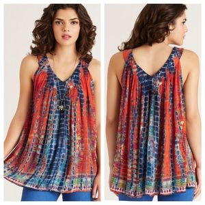 Colorful Tie Dye Tank Top from World Market - S/M